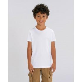 Camiseta niño Blanca para personalización