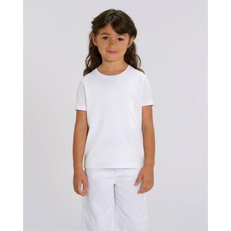 Camiseta niña Blanca para personalización