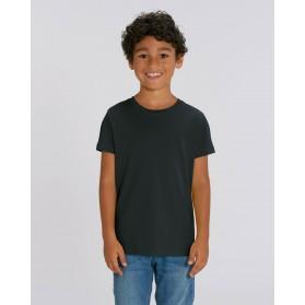 Camiseta niño Negra para personalización
