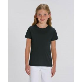 Camiseta niña Negra para personalización