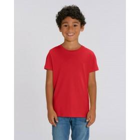 Camiseta niño Roja para personalización