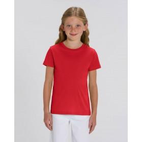 Camiseta niña Roja para personalización