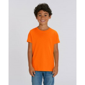 Camiseta niño Mandarina para personalización