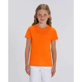 Camiseta niña Mandarina para personalización