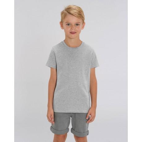 Camiseta niño Heather Grey para personalización
