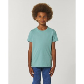 Camiseta niño Teal Monstera para personalización