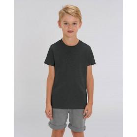 Camiseta niño Antracita para personalización
