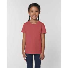 Camiseta niña Rojo Carmin para personalización